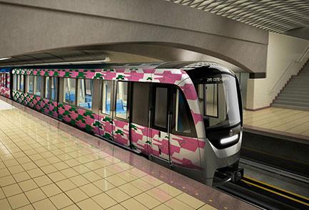 Rendu metro Azur