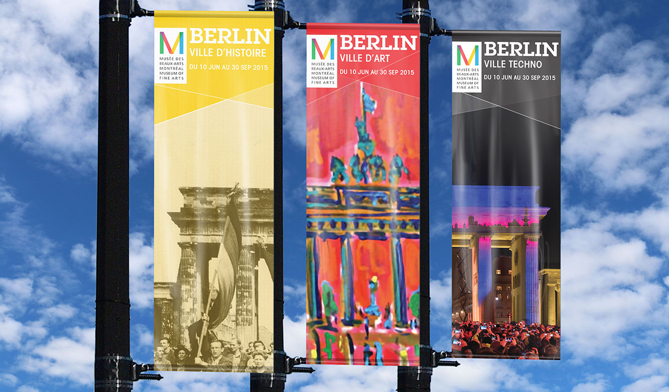 Oriflammes expo Berlin MBA