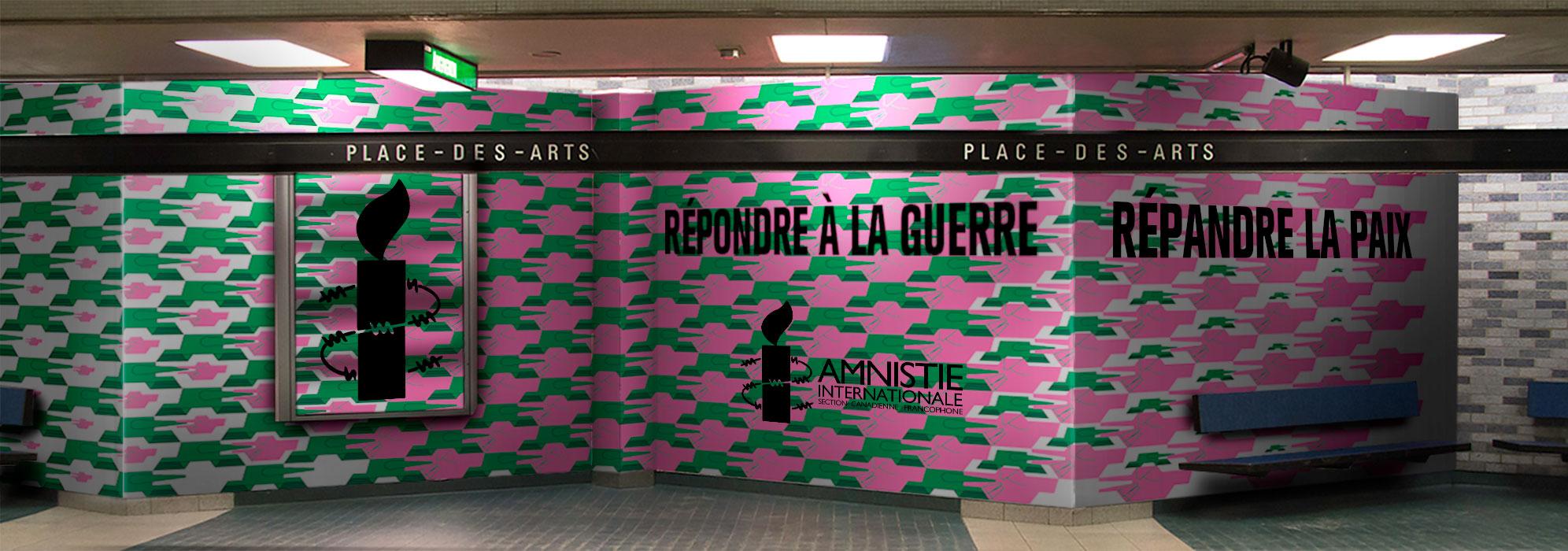 Mockup métro Place-Des-Arts